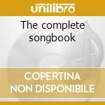 The complete songbook cd musicale