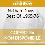 Nathan Davis - Best Of 1965-76 cd musicale di Nathan Davis