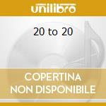 20 to 20 cd musicale