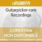 GUITARPICKER-RARE RECORDINGS cd musicale di Eddie Cochran