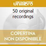 50 original recordings cd musicale di Charlie Parker