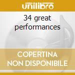 34 great performances cd musicale di Chet Baker