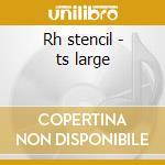 Rh stencil - ts large cd musicale