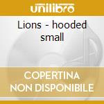 Lions - hooded small cd musicale