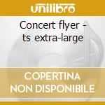 Concert flyer - ts extra-large cd musicale