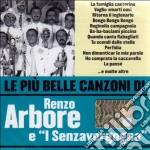 Renzo Arbore E Senzavergogna - Le Piu' Belle Canzoni Di Renzo Arbore cd musicale di Renzo Arbore