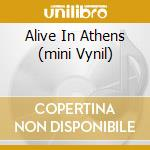 ALIVE IN ATHENS (MINI VYNIL) cd musicale di ICED EARTH