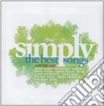 Various - Simply The Best Songs cd musicale di Artisti Vari