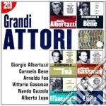 I GRANDI ATTORI: ALBERTAZZI-BENE-FOA-GAS cd musicale di ARTISTI VARI