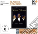 AN EVENING WITH...  ( CD +DVD) cd musicale di DOMINGO PLACIDO