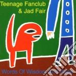 Teenage Fanclub & Jad Fair - Words Of Wisdom And Hope cd musicale di Teenage fanclub & jad fair