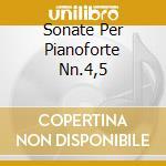 SONATE PER PIANOFORTE NN.4,5 cd musicale di Nicolai Miaskovsky