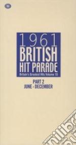 1961 british hit parade- part 2. july to cd musicale di Artisti Vari