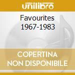 FAVOURITES 1967-1983 cd musicale di Gal Cosat