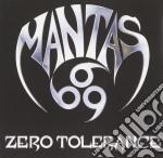 Mantas - Zero Tolerance cd musicale di MANTAS