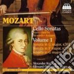 SONATA PER VIOLONCELLO K 301, 376, 379 ( cd musicale di Wolfgang Amadeus Mozart