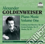 Alexander Goldenweise - Musica Per Pianoforte, Vol.1 cd musicale di Alexande Goldenweise