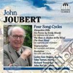 Joubert John - Four Songs-cycles, Improvisation, Kontakion cd musicale di John Joubert