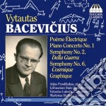 Vytautas Bacevicius  - Poeme Electrique, Concerto Per Pianoforte N.1  Sinfonia N.1, N.6  Graphique cd musicale di Vytautas Bacevicius
