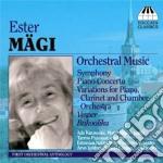 """Ester Magi - Concerto Per Pianoforte N.1, Sinfonia Estone, Vespri Per Archi, Bukoolika cd musicale di Ester MÃ""""gi"""