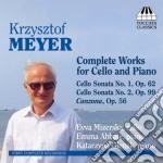 Musica per violoncello e pianoforte (int cd musicale di Krzysztof Meyer