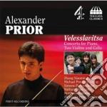 Velesslavitsa. concerto per piano, due v cd musicale di Alexander Prior