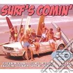 (3cd) surf's comin' cd musicale di Artisti Vari