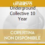 10the year anniversary:mixed by marlon d cd musicale di Artisti Vari