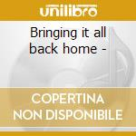 Bringing it all back home - cd musicale