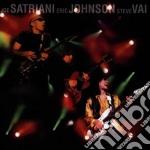 G3 - Live In Concert cd musicale di SATRIANI/JOHNSON/VAI