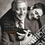 Bennett/lang - A Wonderful World cd musicale di T.&k.d.lang Bennett