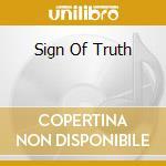 SIGN OF TRUTH                             cd musicale di DIONYSUS
