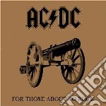 FOR THOSE ABOUT TO ROCK-REMASTERED cd musicale di AC/DC