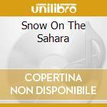 SNOW ON THE SAHARA cd musicale di ANGGUN