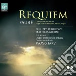 Gabriel Faure' - Jarvi Paavo - Requiem, Cantico Di Jean Racine cd musicale di Paavo Jarvi