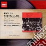 John Barbirolli - Masters: English String Music cd musicale di John Barbirolli
