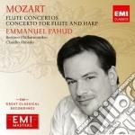 Mozart Wolfgang Amadeus - Pahud Emmanuel - Masters: Mozart - Concerti Per Flauto cd musicale di Emmanuel Pahud
