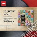 Tchaikovsky - Manfred Symphony - London Philarmonic Orchestra / Mstislav Rostropovich cd musicale di Mstisla Rostropovich
