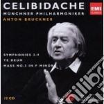 Celibidache edition vol.2: bruckner sinf cd musicale di Sergiu Celibidache