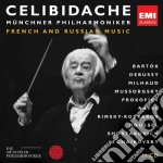 Celibidache edition vol.3: musica france cd musicale di Sergiu Celibidache