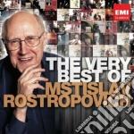 The very best of cd musicale di Mstisla Rostropovich