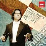 Mendelssohn: sinfonie 3-5 cd musicale di Riccardo Muti