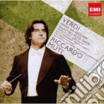 Verdi: requiem e quattro pezzi sacri cd musicale di Riccardo Muti