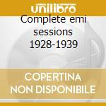 Complete emi sessions 1928-1939 cd musicale di Paul Robeson