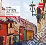 Dvorak - Slavonic Dances Op 46 / Op 72 cd musicale di Philharmoni Berliner
