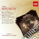 Verdi Giuseppe - Muti Riccardo - New Opera Series: Verdi Macbeth (2cd) cd musicale di Riccardo Muti