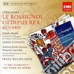 Stravinsky Igor - Conlon James - New Opera Series: Stravinsky Le Rossignol (3cd) cd musicale di James Conlon
