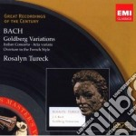 GROC SERIES: BACH GOLDBERG VARIATIONS     cd musicale di Rosalyn Tureck