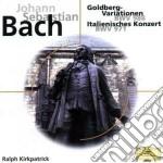 Bach - Weissenberg Alexis - Red Line: Bach Variazioni Goldberg cd musicale di Alexis Weissenberg