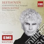 Beethoven Ludwig Van - Rattle Sir Simon - Symphonies 5 - 6 - Pastorale cd musicale di Simon Rattle